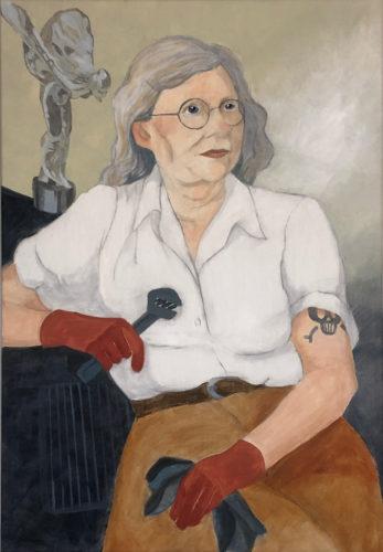 Laura Backhall<br>Akryl på linneduk<br>64x93 cm